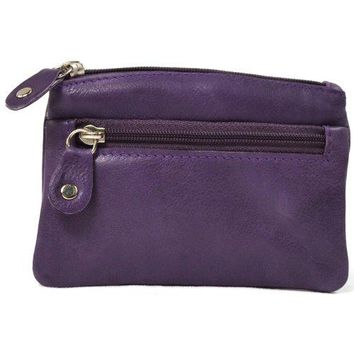 Ladies Butter Soft Genuine Leather Wallet  Coin Purse