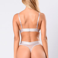 Love Therapy Thong - Lilac