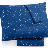 Whim by Martha Stewart Collection Novelty Print Sheet Sets, 200 Thread Count 100% Cotton Percale, Only at Macy's | macys.com