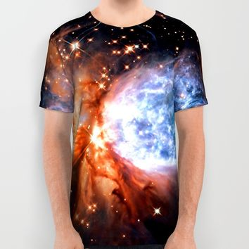 gAlaXY All Over Print Shirt by 2sweet4words Designs