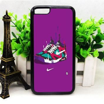 NIKE SNEAKERS ART SPORTS BRAND PURPLE IPHONE 6 | 6 PLUS | 6S | 6S PLUS CASES