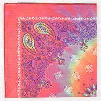 Tie Dye Paisley Bandana Multi One Size For Men 22076295701