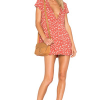 Obey Bella Dress in Rust Multi | REVOLVE