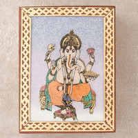 Ganesh Gemstone Picture Box
