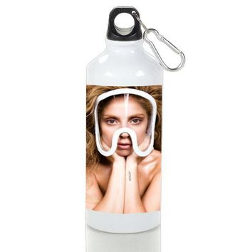 Gift Sport Bottles | Lady Gaga Pop Art Aluminum Sport Bottles