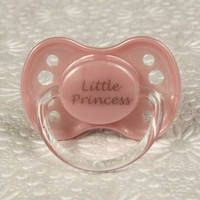 ABDL DDLG Adult Baby Pacifier/ Dummy/ Binkie. NUK 3 - Little Princess Pink Pacifier