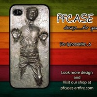 Star War han solo carbonite Case For Iphone 44s 5 Samsung S234 by pfstore on Zibbet