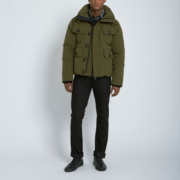 Canada Goose Selkirk Parka in Military Green