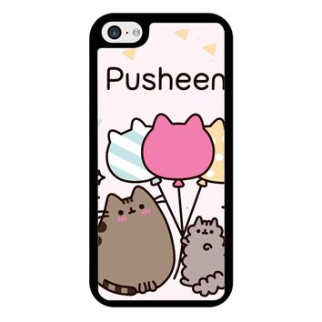 Pusheen The Cat Baloon iPhone 5/5S/SE Case