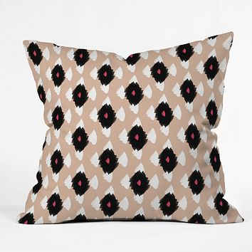 Allyson Johnson iKat Class Throw Pillow