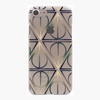 Harry Potter Deathly Hallows Stickers Hard Transparent Case for iPhone 7 7 Plus 6 6S Plus 5 5S SE 5C 4 4S