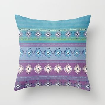 Play 3 Throw Pillow by ViviGonzalezArt