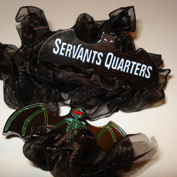 Collectible Coin DisneyHaunted Mansion Sign Servants Quarters Spooky Bat Halloween