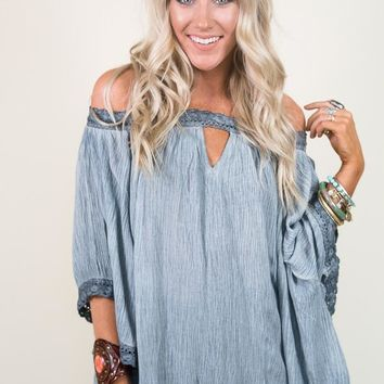 All the Way Tunic Blouse