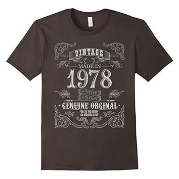 Vintage Made In 1978 Aged to Perfection - Birthday Shirt 38