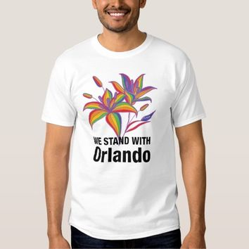 We stand with Orlando Shirt