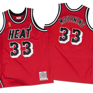 Miami Heat Alonzo Mourning #33 jerseys