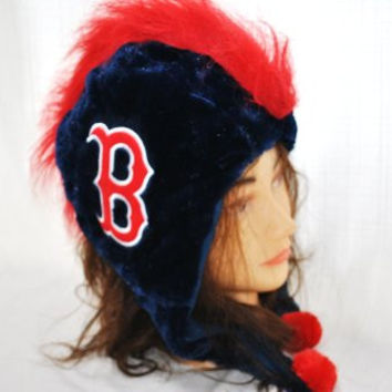MLB Boston Red Sox Team Mohawk Hat