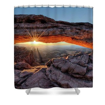 Mesa Arch Sunburst - Shower Curtain