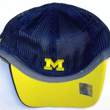 University of Michigan Wolverines Flex Mesh Back Adidas Hat - Youth 4 - 7 YRS - TW35B