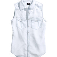 Lyocell Shirt - from H&M
