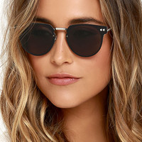 Spitfire Cyber Silver and Black Sunglasses