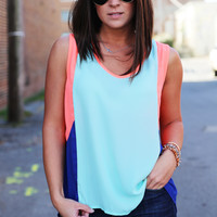 Color Block Nights {Top}
