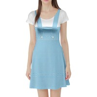 Dorothy Wizard of Oz Inspired Short Sleeve Skater Dress