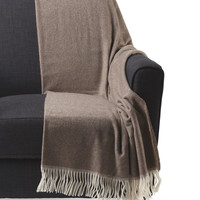 Made In Italy Cashmere Double Face Throw - Throws - T.J.Maxx