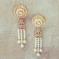 Pree Brulee - Kottayam Pearl Earrings