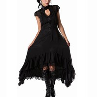 Romantic Flowing Layer Dress :: VampireFreaks Store :: Gothic Clothing, Cyber-goth, punk, metal, alternative, rave, freak fashions