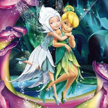 5D Diamond Painting Secret of the Wings Tinkerbell Kit