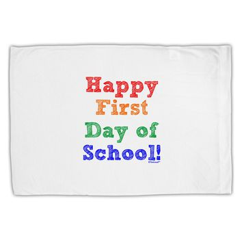 Happy First Day of School Standard Size Polyester Pillow Case