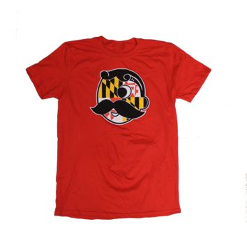 Natty Boh Logo with Maryland Flag (Red) / Shirt