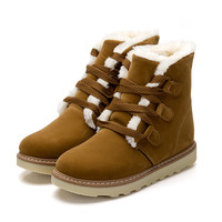 Womens Charming Winter Lace Boots