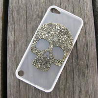 ipod touch 5 case ipod case ipod touch 5 ipod 5 case ipod touch case ipod touch 5 cover black blue white TPU side skull ipod touch 5 case