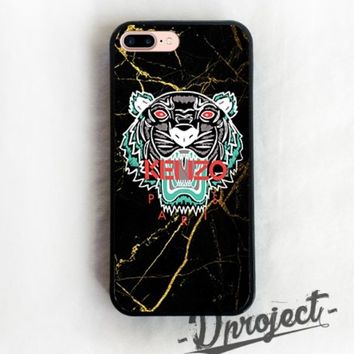 Kenzo Paris Awesome Tiger Custom For iPhone 7 & 7 Plus Print On Hard Case