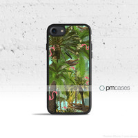 Tropical Camouflage Camo Case Cover for Apple iPhone 7 6s 6 SE 5s 5 5c 4s 4 Plus & iPod Touch