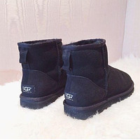 Ugg Women Fashion Wool Snow Boots-4