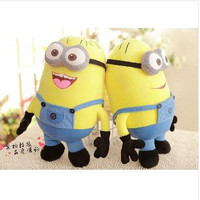 Despicable ME Movie Plush Toy 19inch 50cm Minion 3D eye Jorge Stewart Dave baby educational toys Gift
