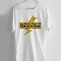 BAZINGA!- The Big Bang Theory T-shirt Men, Women and Youth