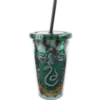 Harry Potter Slytherin Reusable Tumbler