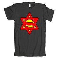 Superjew Super Jew Logo American Apparel T-Shirt