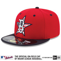 Boston Red Sox 2014 Authentic Collection Stars & Stripes Diamond Era 59FIFTY On-Field Game Cap - MLB.com Shop