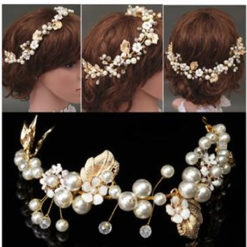 Bridal Hairpiece (sold as pair)