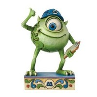 Jim Shore Disney Traditions Mike Wazowski of Monster Figurine, 3.375-Inch