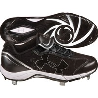 Under Armour Women's Glyde ST CC Softball Cleat - Black/White   DICK'S Sporting Goods