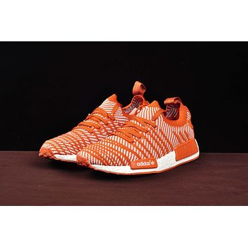 Best Deal Online Adidas NMD R1 PK Boost SPRING SUMMER Men Women Running Shoes Orange