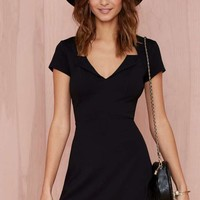 Nasty Gal Jagged Little Thrill Knit Dress