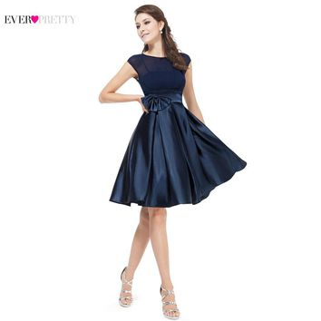 Cocktail Dresses Ever Pretty HE06113 Cute Women 2017 Short Vestidos Plus Size Sexy Women Cocktail Dresses